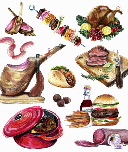 Variation of meat