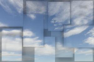 Sky montage backgrounds pattern