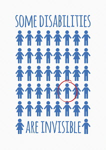 Disability awareness message