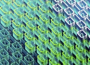 Three dimensional binary code pattern