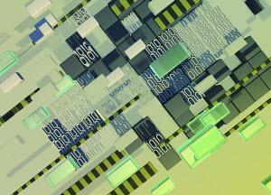 Blocks and binary code data