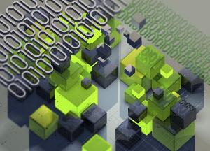 Blocks of binary code data and computer programming