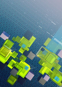 Blocks, binary code data and computer programming