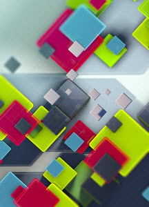 Abstract backgrounds pattern of squares and grid