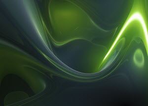 Swirling green abstract backgrounds pattern