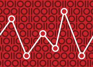 Graph in binary pattern