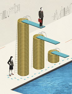 Gender pay inequality in business
