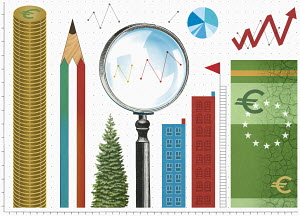 Analysing budget costs in euros