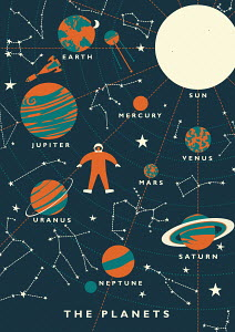 Space travel and planets in the solar system