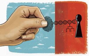 Hand unlocking genetic data