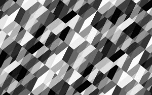Abstract black and white full frame geometric backgrounds pattern