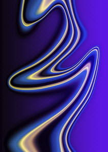 Abstract purple wave pattern