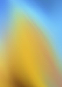 Soft focus yellow and blue abstract backgrounds pattern