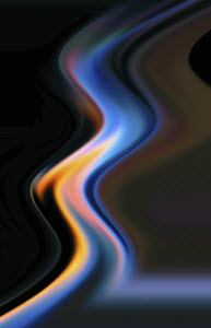 Abstract flowing wave pattern