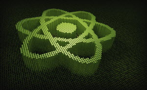 Atom symbol in three dimensional binary code