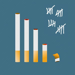 Tally chart for giving up smoking