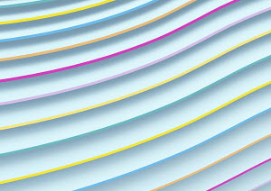 Abstract full frame pattern multi coloured grooves