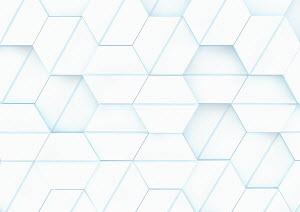 Three dimensional hexagon grid pattern