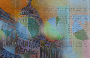 Stock market data and the Capitol Building