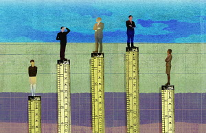 Businessmen higher than businesswomen in corporate hierarchy