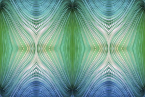 Symmetrical abstract background pattern