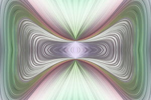 Symmetrical distorted abstract background pattern
