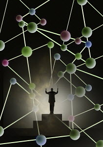 Conductor conducting molecular structure