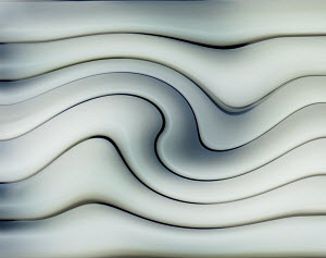 Abstract smooth wave pattern
