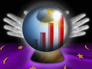 Forecasting growth using crystal ball
