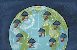 Financial storms around the world