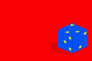 European Union puzzle cube