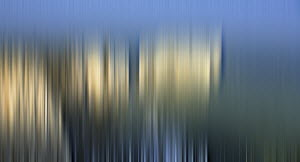 Abstract blurred cliff coastline