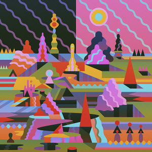 Fantasy landscape pattern