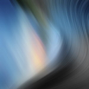 Soft focus blue abstract background