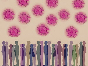 Lots of people under threat from coronavirus