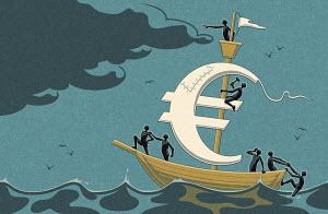 Struggling euro boat