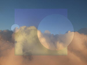 Abstract cloudy sky