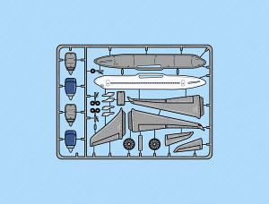 Model plane assembly kit