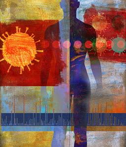 Human body and coronavirus