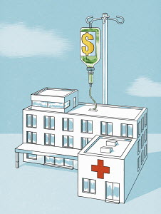 Hospital receiving infusion of dollars