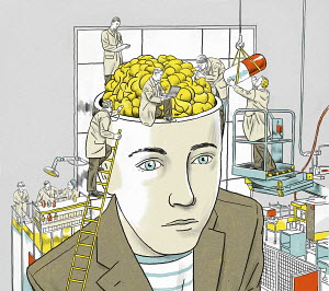 Scientists researching medicine for man's brain