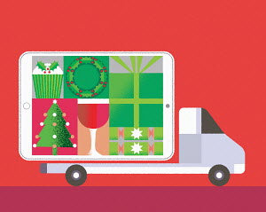 Online Christmas delivery