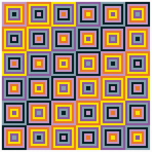 Repeat square pattern