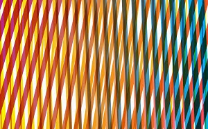 Abstract criss crossing stripe pattern