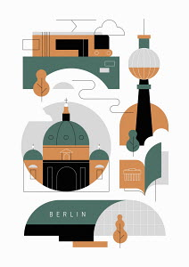 Berlin graphic