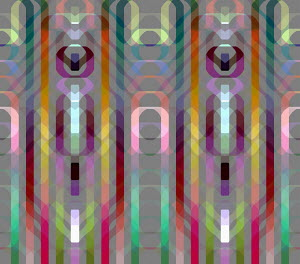 Pastel colour full frame abstract pattern