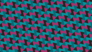 Abstract geometric repeat triangle pattern