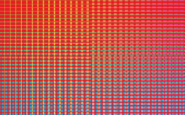 Full frame abstract rectangle pattern