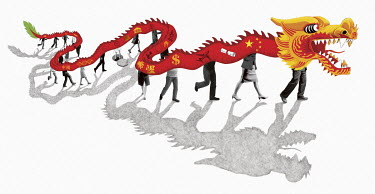 Global dominance of Chinese dragon