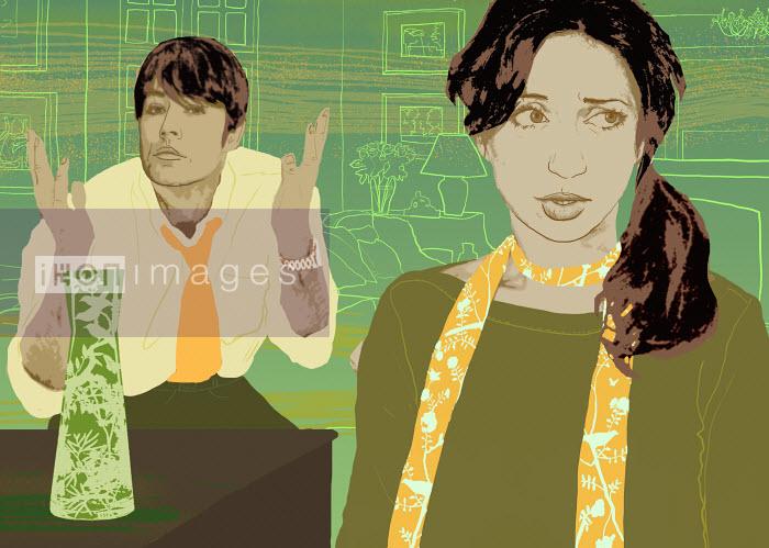 Marina Caruso - Couple arguing